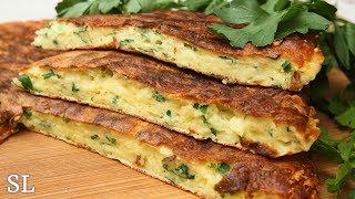 Сырная Вкуснятина за 10 Минут! Вы Останетесь Довольны! Ленивый Хачапури или Сырная Лепешка.