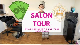 How To Turn Your Home Into A Salon