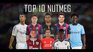 Top 10 Nutmegs ● 2015 - Official by FIFA | احسن 10 قنطرة في 2015