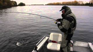 Смотреть онлайн Как найти стоянки рыбы осенью