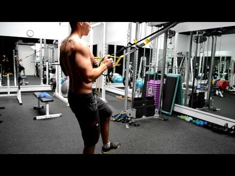Suspension Single Leg Squat & Row