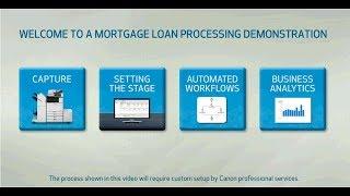 Mortgage Loan Processing Demonstration