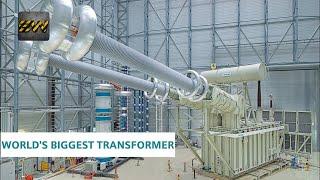 World's BIGGEST Electrical Transformer Video
