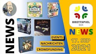 Brettspiel News der Brettspielbox   Nachrichten, Crowfunding, Neuheiten 17 09 2021