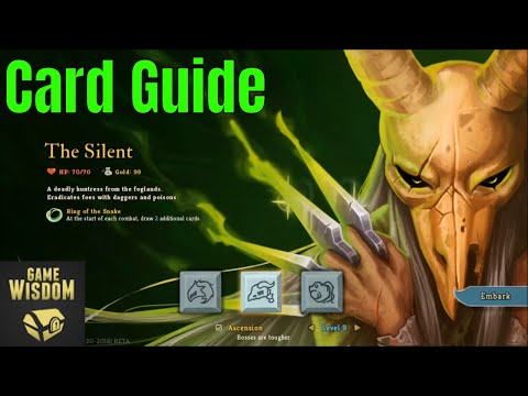 Slay the Spire Beginner's Guide -- Silent Strategies