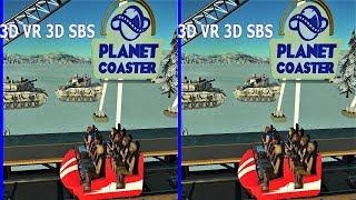 Roller Coaster 4 3D SBS VR box Американские горки для vr 3d очков