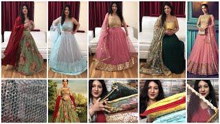 Huge Affordable Designer Lehenga Haul | Kreeva Lehenga Haul | Online Shopping Review | Vartika Anand