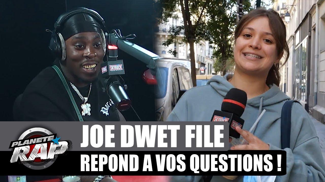 Joé Dwèt Filé est un GROS CHARO ? Il répond à VOS questions ! #PlanèteRap