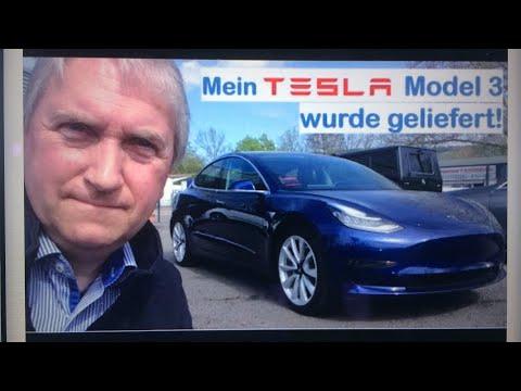 Mein Tesla Model 3 wurde geliefert (Zeitsprung) - gelöscht... | Model 3 in Deutschland | You You Xue