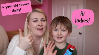4 year old speech delay update! Parenting Tips