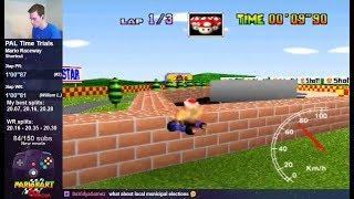 "Mario Raceway SC 3lap World Record - 1'00""65 (PAL)"