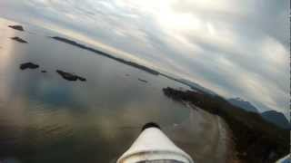 FPV-Gopro flying RC Plane on the West Coast of Vancouver Island Tofino