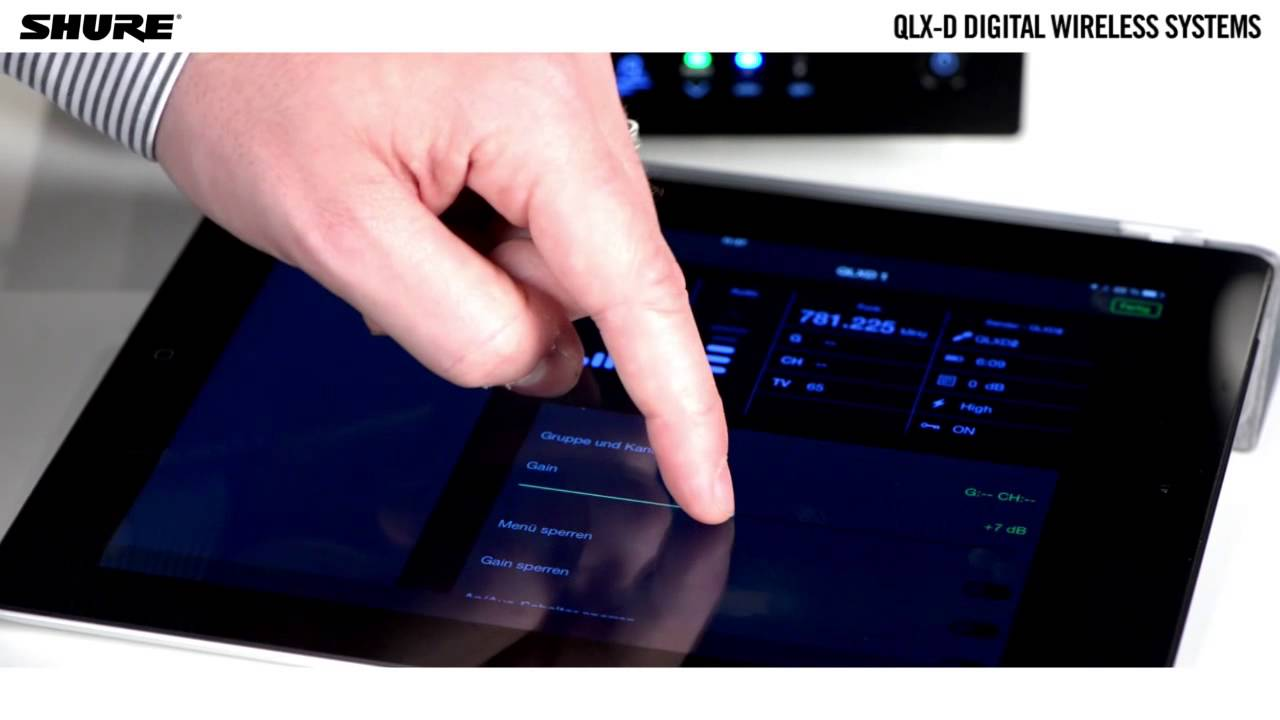 QLX-D Digital Wireless Systems: Networked Control
