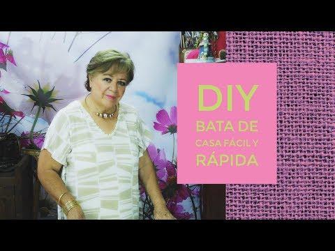 DIY - BATA DE CASA FÁCIL Y RÁPIDA !