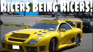 Worst Ricer Fails Part 2 (Extended Version)