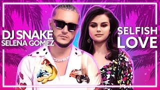DJ Snake, Selena Gomez - Selfish Love [Lyric Video]