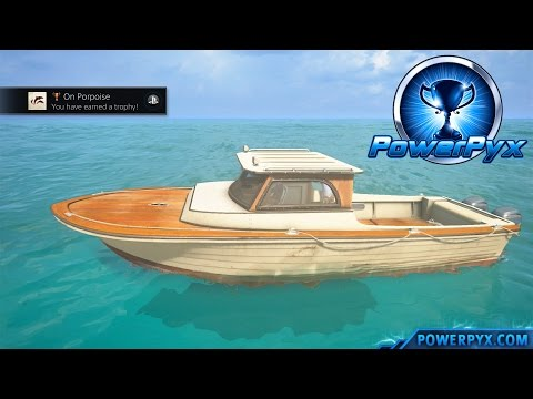 Uncharted 4: A Thief's End - On Porpoise Trophy Guide (Chapter 12 Dolphin Locations)