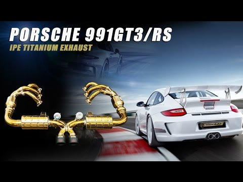The IPE Titanium Exhaust for Porsche 911 GT3 / RS