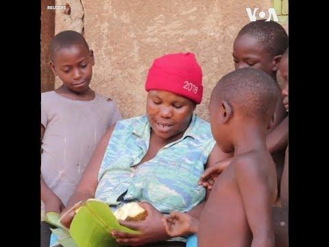 Bà mẹ đơn thân nuôi 38 đứa con ruột (VOA)