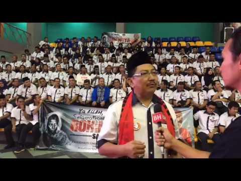 PSSCM Turut memberi Sokongan Dalam Perhimpunan Solidariti Ummah Untuk Rohingya