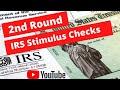 2nd Round of IRS Stimulus Checks