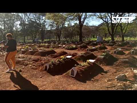 Dirigentes do Sindsep verificam as condições de trabalho dos sepultadores e demais servidores na unidade do Serviço Funerário Municipal.