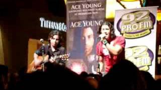 Ace Young Girl That Got Away LIVE Mohegan Sun Cd Release