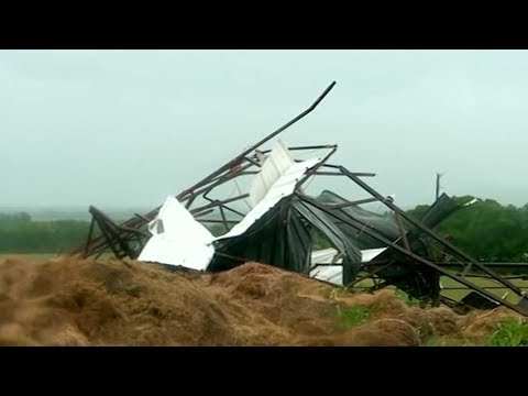 Dozens of tornadoes rip through Midwest U.S.