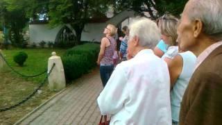 Krosno - Polanka: Cud w Krośnie, zacieki na twarzy...