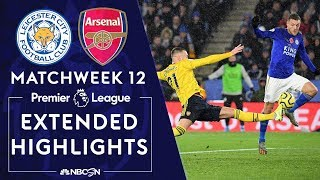 Leicester City v. Arsenal | PREMIER LEAGUE HIGHLIGHTS | 11/09/19 | NBC Sports