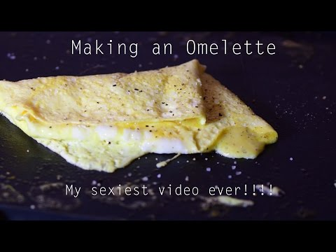 Making an Egg Omelette on my Griddle - Too Hot!