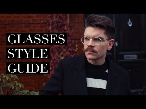 How To Pick The Perfect Style of Glasses For You!   Glasses Lookbook (ad)