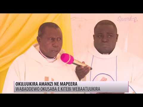 Abakkiriza balambudde ekifo kyabajjulizi Amansi ne Mapeera