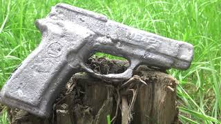 How To Make A Gun From Aluminum Cans 🔴 Melting Aluminum Cans At Home