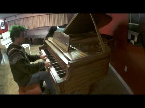 0 - Art case Kimball - Bosendorfer era Viennese classic  grand  piano