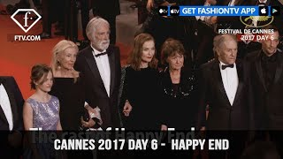 Cannes Film Festival 2017 Day 6 Part 1 - Happy End | FashionTV