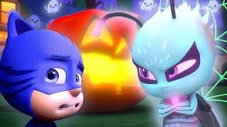 PJ Masks Episode   CLIPS   Trick Or Treat: Motsuki   🎃🦇Happy Halloween 🦇🎃Cartoons for Kids