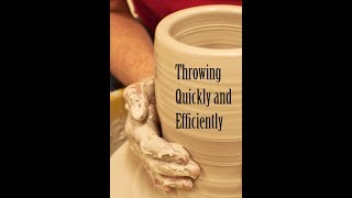 Throwing Quickly and Efficiently