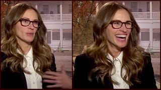 Julia Roberts (FUNNY) Explanation On Why She Is Not On Twitter (EXCLUSIVE)