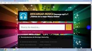descarga musica online sin programas