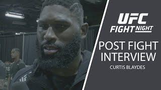 "UFC Raleigh: Curtis Blaydes - ""I've Always Had Hands"""