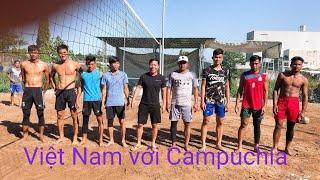 Campuchia vs việt nam.kèo hẹn 44 tại biên hoà đồng nai(set1)