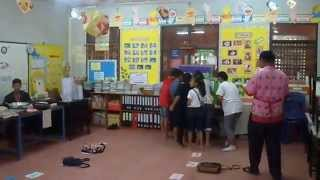 preview picture of video 'Supsaphit Wittayakarn School, Kamphaeng Phet, Thailand, English Camp about Shrove Tuesday.'