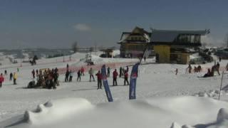 preview picture of video 'Ski Poland - Stok RusinSki Bukowina Tatrzańska'