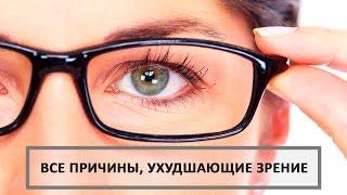 Основные причины ухудшения зрения. Ольга Бутакова.
