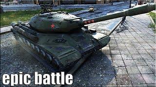 ИС-4 против ТОЛПЫ))) 🌟 медаль Колобанова, Пул 🌟 World of Tanks лучший бой на ИС 4