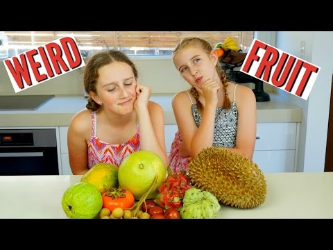 Weird And Exotic Fruits Taste Test