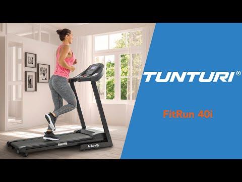 Promovideo: Běžecký pás TUNTURI FitRun 40i