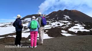 Thumbnail of the video 'Mount Etna: Sicily's Lively Volcano'