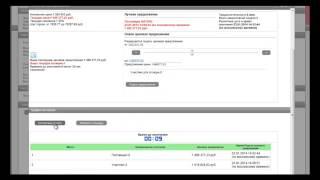 Участие в торгах (АРМ-поставщика, WEB-интерфейс поставщика, режим автоторга)